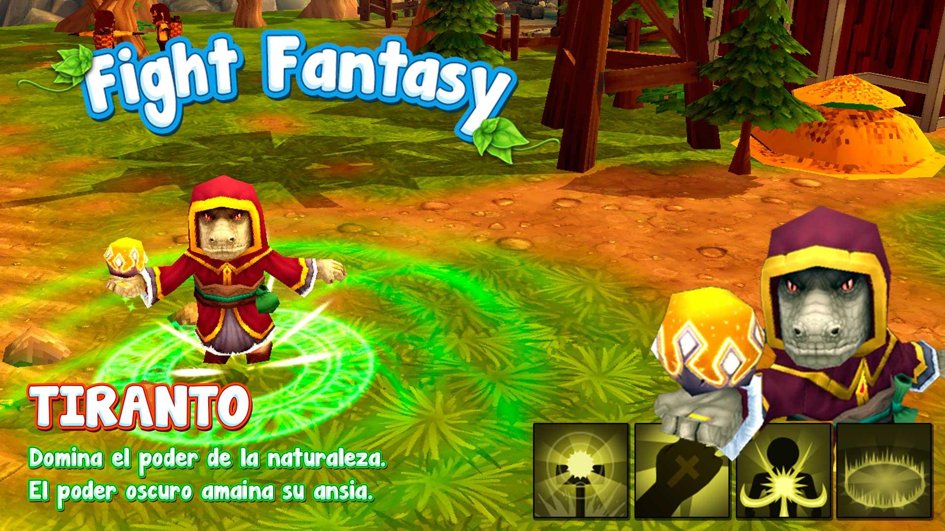 Fight Fantasy Aplicación y Videojuego