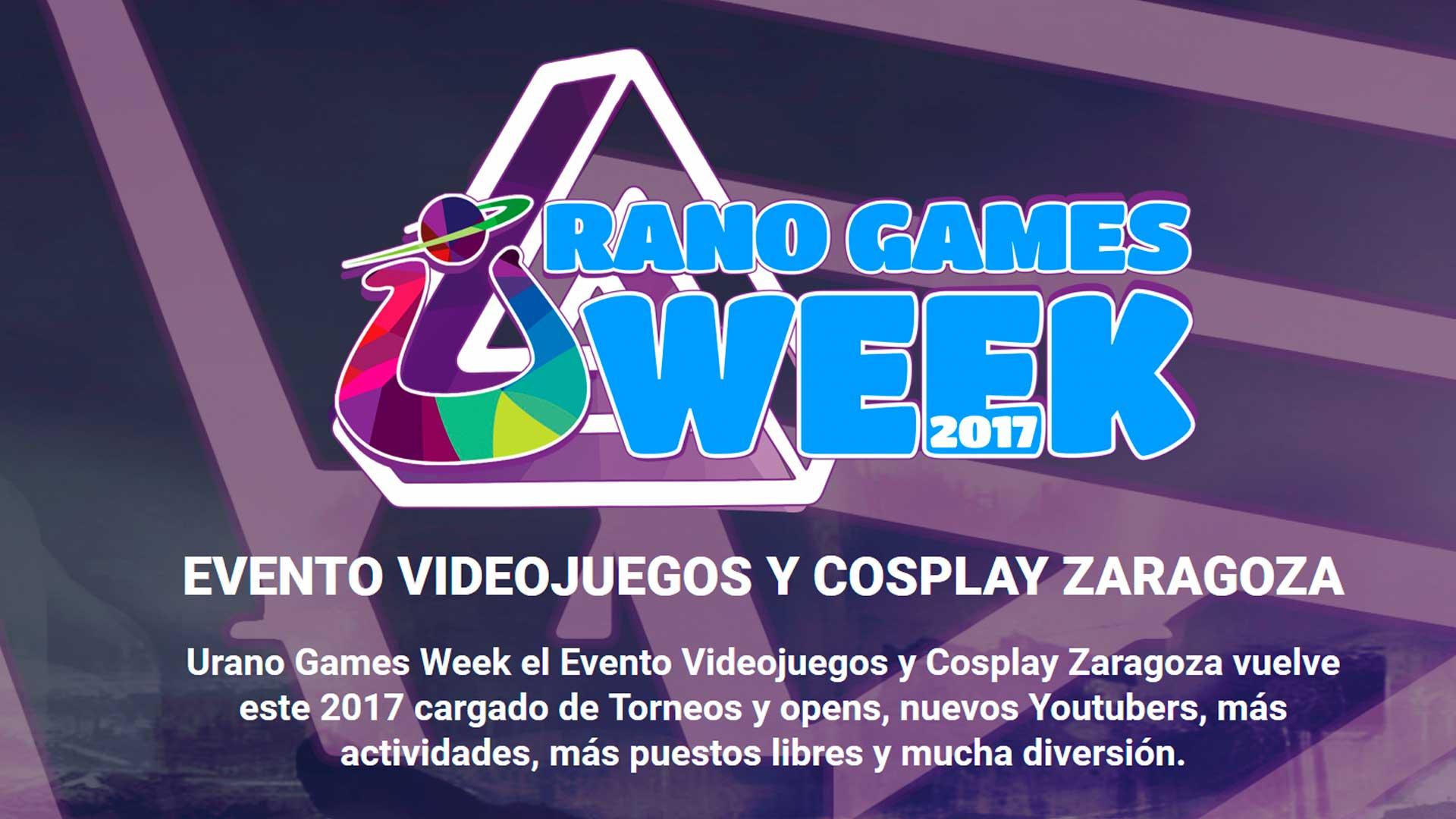Wallpaper Urano Games como Logo oficial del proyecto