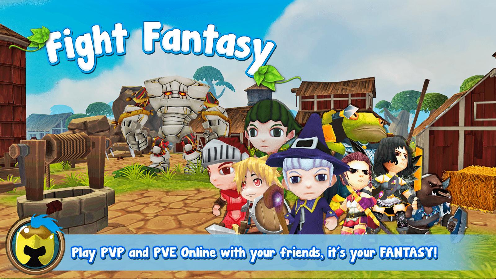 Fight Fantasy Juego aplicación Android e iOS