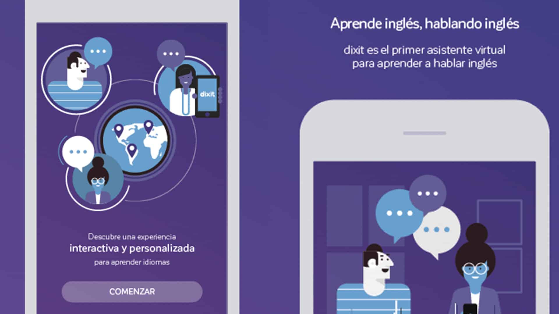 dixit aprende inglés hablando inglés APP Android