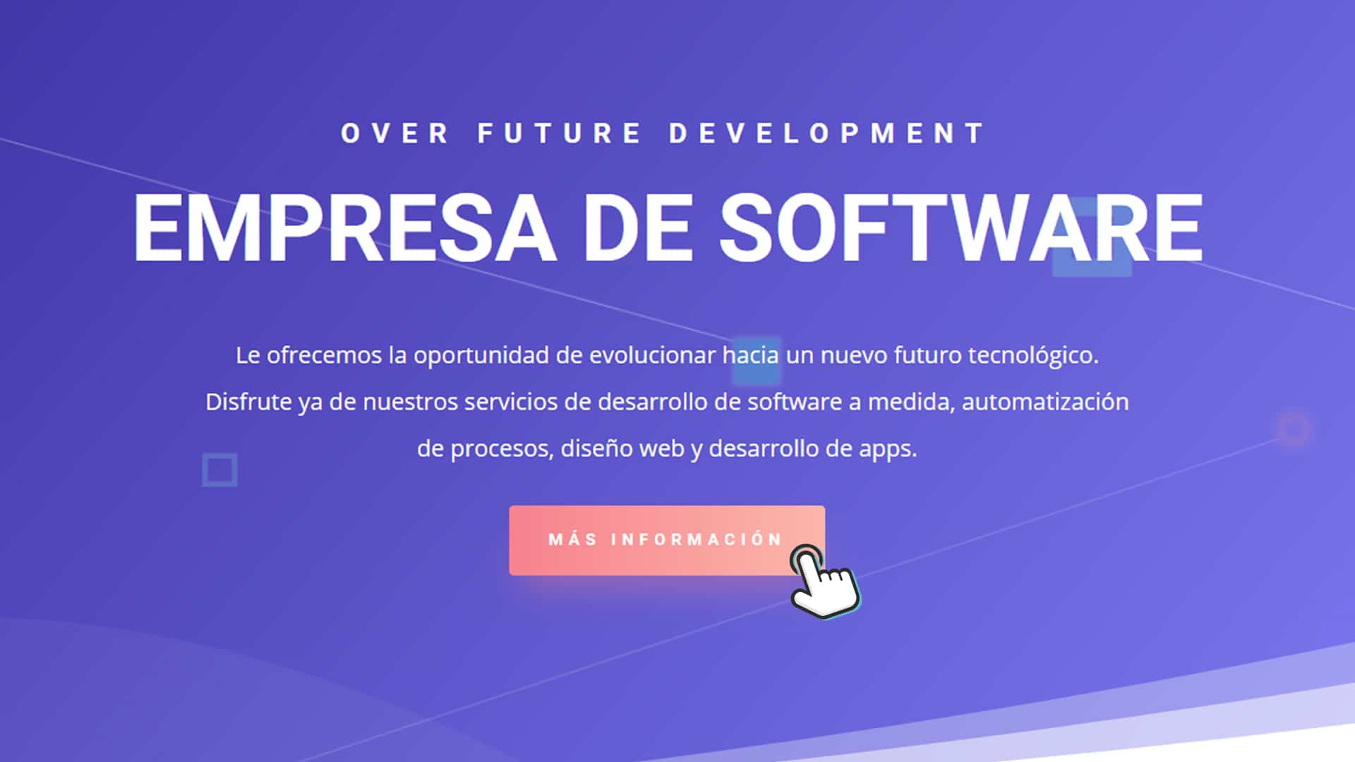 Over Future Development es una nueva marca comercial y empresa de software
